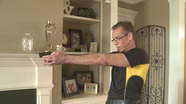 When Kenny Guffey got his carry permit about a year ago, he never thought he would actually need to use his gun. (Photo credit: Local 8 Now)