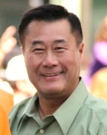 California state Sen. Leland Yee, arguably during happier days.