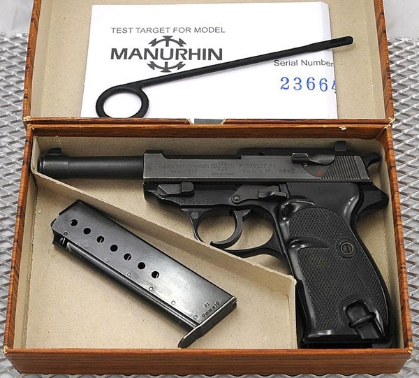 Manurhin made French P1 for the German police (O the irony..).