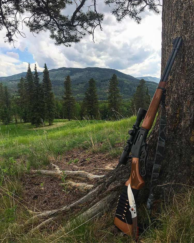 Marlin 336, lever action, rifle