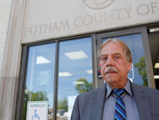"Putnam County Clerk Dennis Sant says that, ""We are fighting the good fight on this,"" on his continued refusal to turn over the records. (Photo credit: USA Today)"