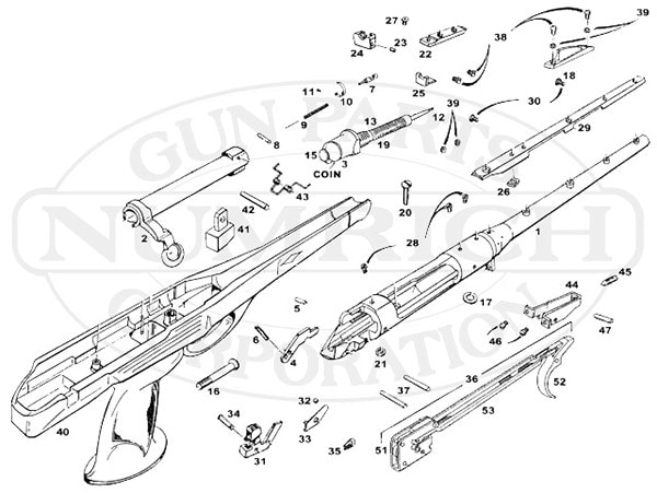 Remington XP100 schematic sheet