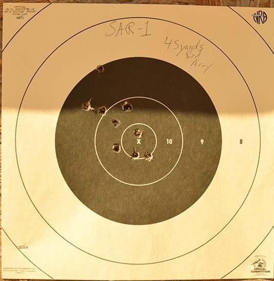 SAR 1 plays well with Ukrainian ammo