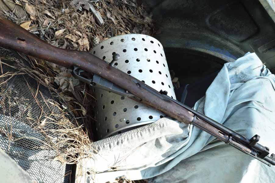 The bane of Nazi soldier's exists, the Mosin Nagant 91/30 (Photo by: Jim Grant)