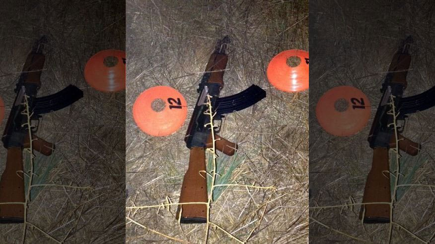 Federal law requires replica and toy guns have an orange-colored tip to easily distinguish them from their genuine counterparts. However, some kids simply remove the tip or color it black in an attempt to make their guns look more realistic. (Photo credit: AP)