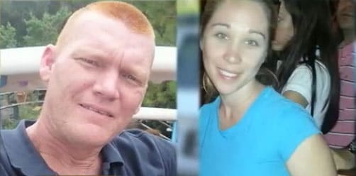 According to police records, the couple had a history of domestic disputes, although the frequency and intensity is unknown. (Photo credit: WPTV)