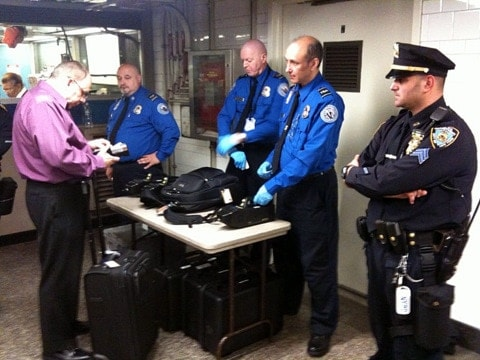 TSA asks for more police presence at checkpoint, declines