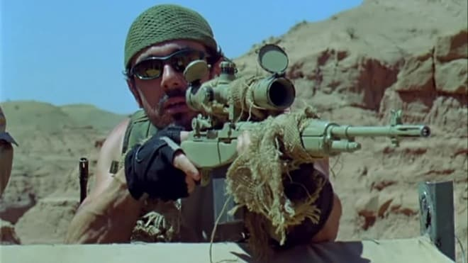 m1a used in the objective movie