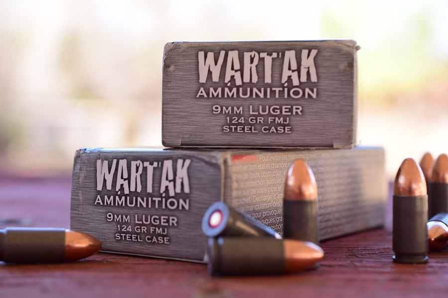 boxes of wartak ammunition