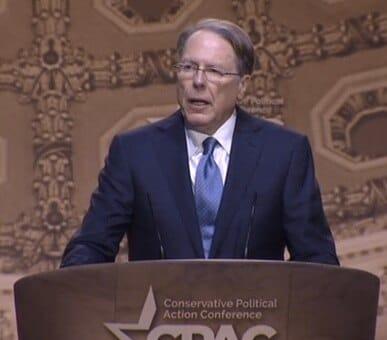 Wayne LaPierre, executive vice president National Rifle Association.
