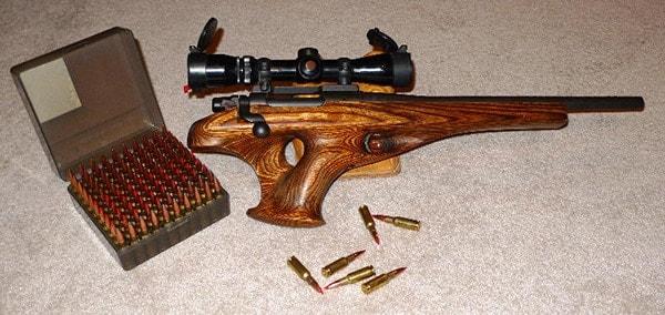 Remington XP100 in .221 fireball