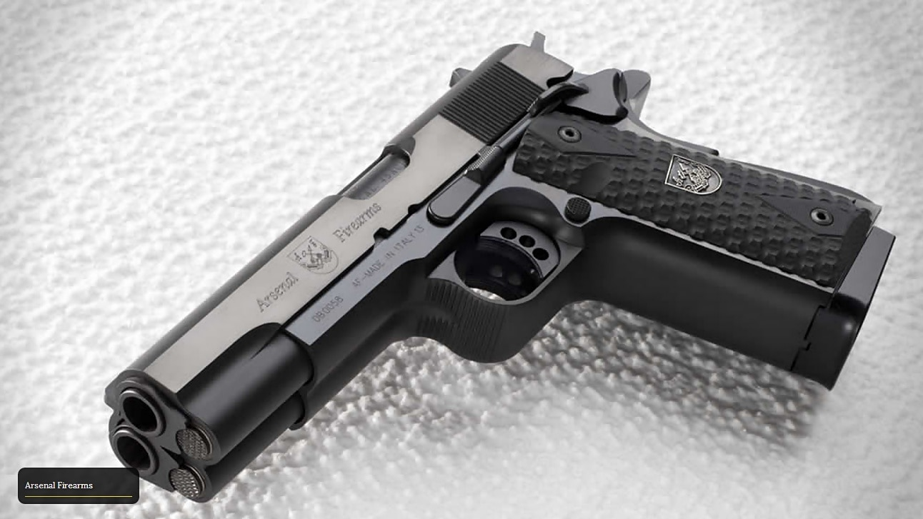 Af2011 A1 special-edition double-barrel 1911, strike one pistols incoming