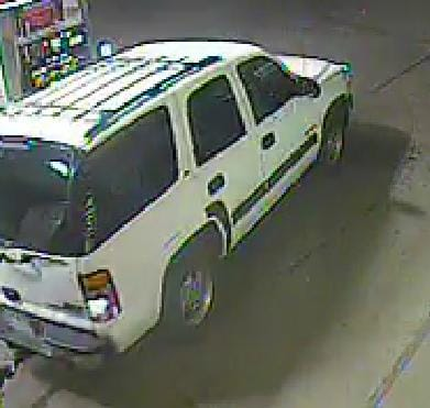 Arvada, CO police are looking for any information identifying a vehicle that was used to steal more than $100,000 in ammunition and accessories from a local gun store. (Photo credit: Arvada Police)