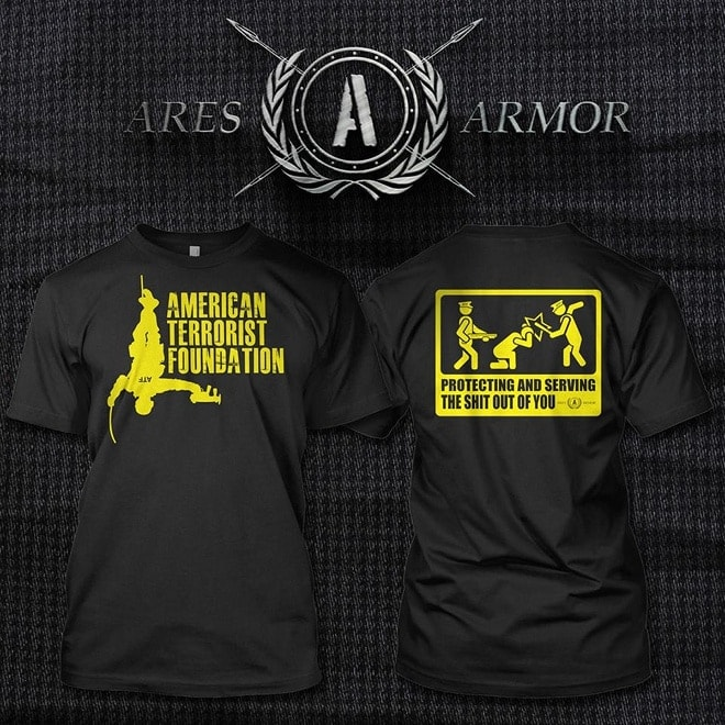 ares armor t shirt