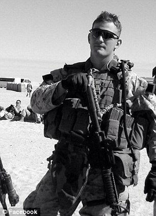 Sam Keen was also a former Marine who served two tours in Iraq. (Photo credit: Facebook)