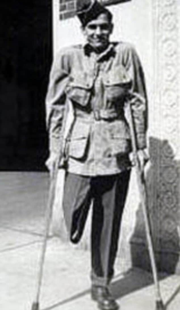 William Guarnere after he left the hospital
