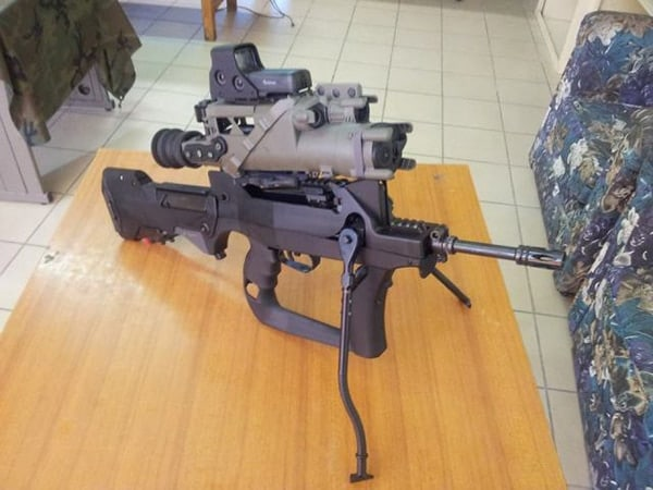 FAMAS French Foreign Legion