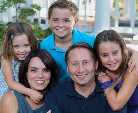 GOP-gubernatorial candidate Rob Astorino and his family.