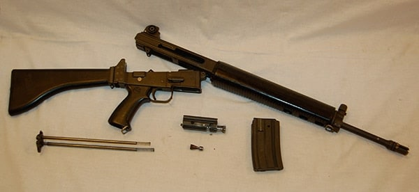 field stripped AR18