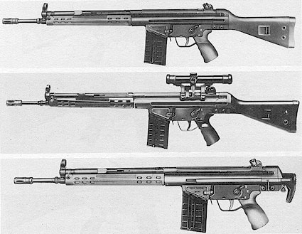 The Heckler and Koch G3 Battlerifle