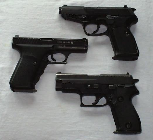 german police pistols