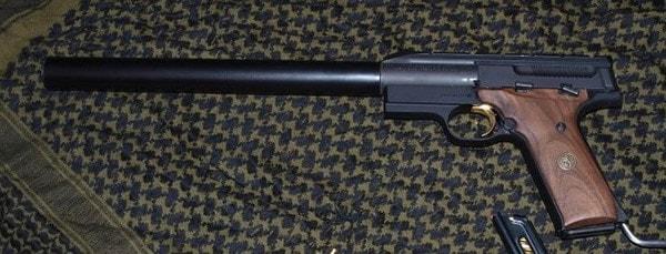 Buck mark pistol