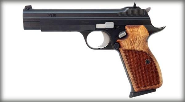 SIG P210 in 9mm