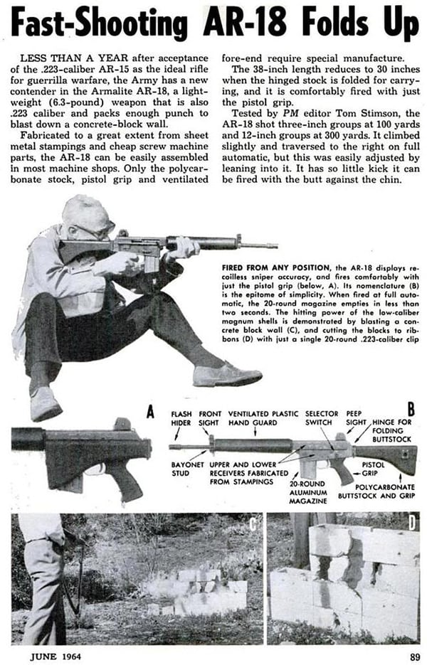 AR18 news advertisement