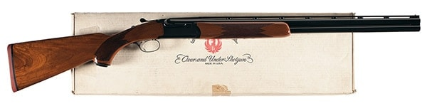 Ruger Red Label in the original blued