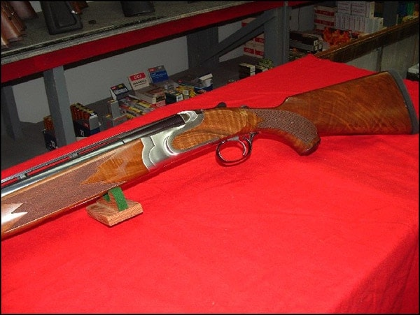 Ruger red label wood