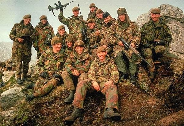 L1A1 rifle falklands
