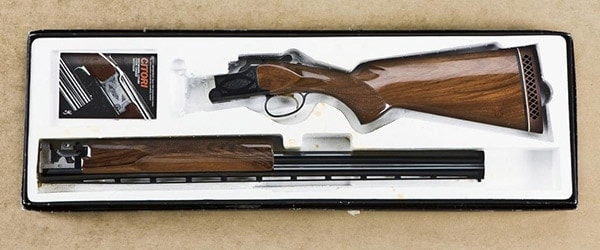 Browning Citori in the box