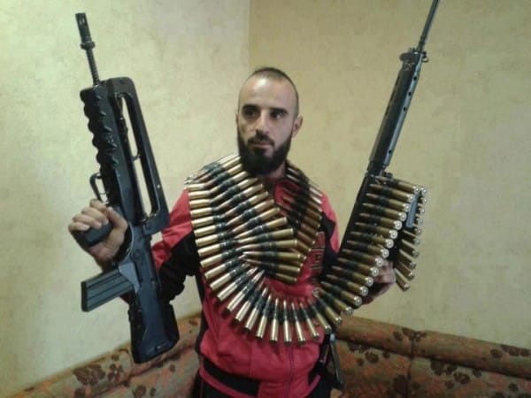FAMAS in Syria