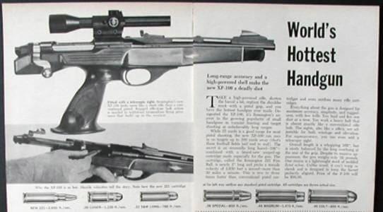 Remington XP-100 advertisement