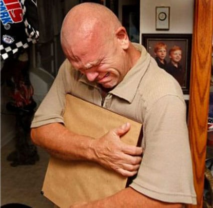 Steve Woods was overcome with emotion when he learned that his father's remains had finally been recovered from Vietnam after 48 long years. (Photo credit: The Leaf Chronicle)