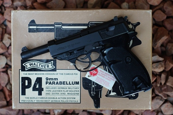 Walther P4.