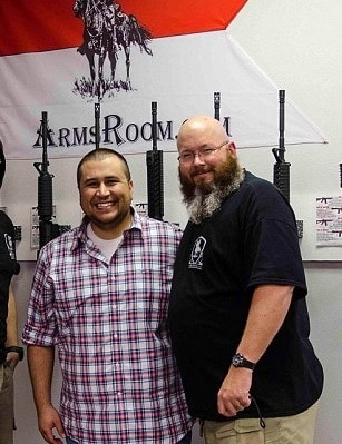 Following a last minute cancelation, a local gun store moved the New Orlando Gun Show, featuring George Zimmerman, to their location (Photo credit: Facebook)