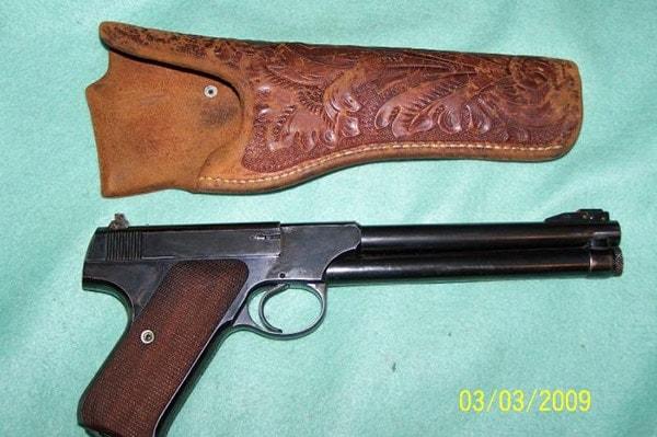 colt woodsman pistol king sight