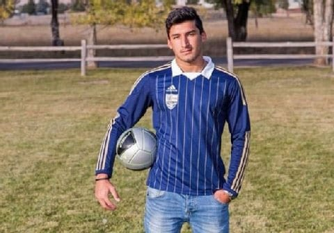 Diren Dede was a foreign exchange student from Hamburg, Germany who enjoyed playing soccer. (Photo credit: NBC)