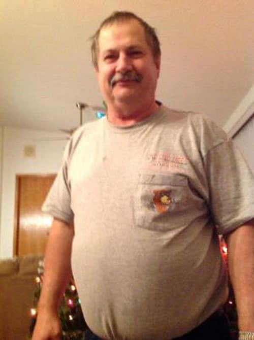 Jeff Gegelman was airlifted to a Bismarck hospital after he was shot three times in his rural home and drove himself to a police station for help. (Photo credit: The Bismarck Tribune)