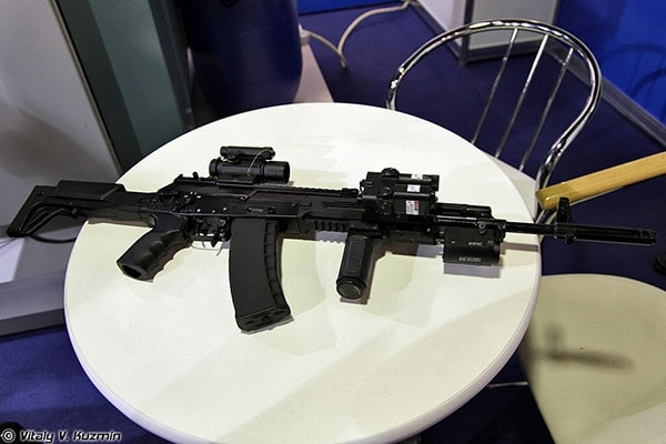 AK-12 exhibition