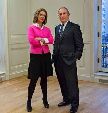 Michael Bloomberg and Shannon Watts