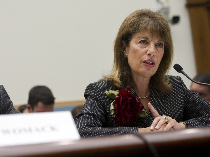 Congresswoman Jackie Speier (D-CA) wants the President to ban imports of 'assault weapons' due to the exploits of California State Sen. Leland Yee. (Photo credit: PBS)