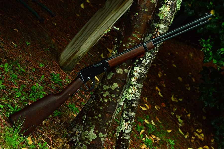 Lever-action laser-accurate .22lr (Photo by: Jim Grant)