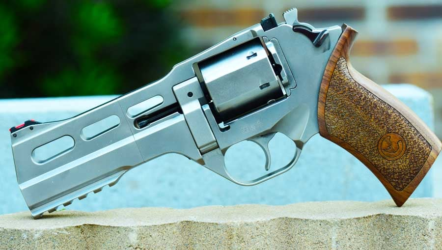 The Rhino 50DS looks dashing with its chrome finish (Photo by: Jim Grant)