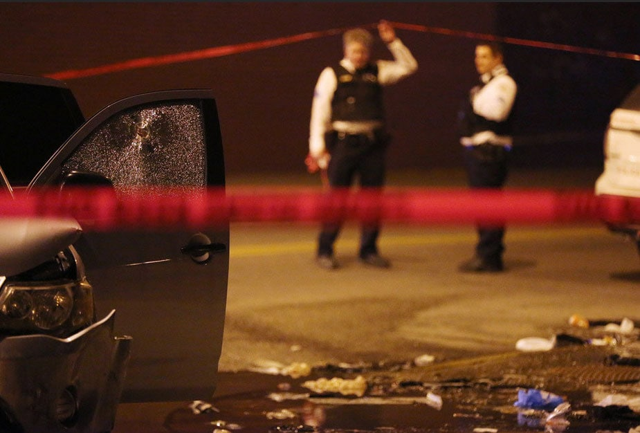 A 28-year-old mother of two was shot in the head while in her car. Her father says it's being investigated as gang-related, but she had no gang affiliations. (Photo credit: The Chicago Tribune)