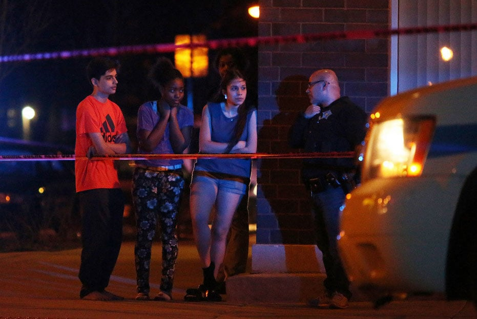 The youngest victim of the weekend violence was 16-years-old and the only suspect in custody is just a year older. (Photo credit: The Chicago Tribune)