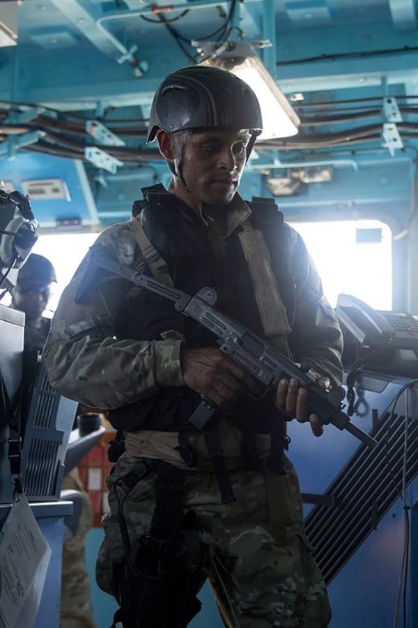 Seychelles Special Forces Units UZI
