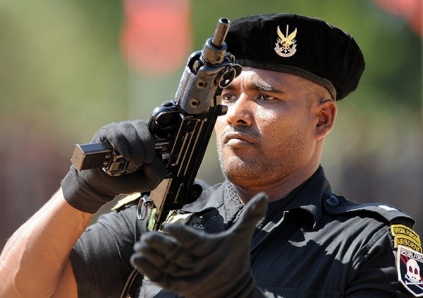 Sri Lankan Special Forces Uzi
