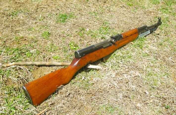 The Yugoslavian SKS is renown for its robust construction. (Photo by: F. Borek)